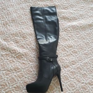 Aldo thigh high boots